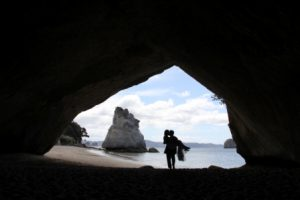 Cathedral Cove wedding New Zealand