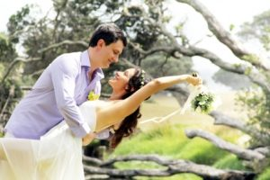 Coromandel eloping weddings New Zealand