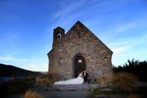 Eloping weddings Tekapo New Zealand