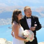 wedding ceremony in Queenstown
